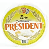 President Brie Plain 60% Wheel 2.2 Pounds (1 Kilo)
