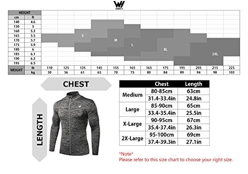 Sport shirt Longues Homme Veste Whcreat Sweat new Blouson Argenté Zippé Manches 7qw6PAf
