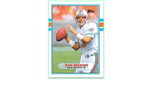 Dan Marino 1989 Topps  293 - Miami Dolphins at Amazon s Sports Collectibles  Store ed1ba2b8f