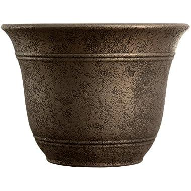 Listo SRA16001P02 Sierra Planter, Nordic Bronze, 16-Inch Width