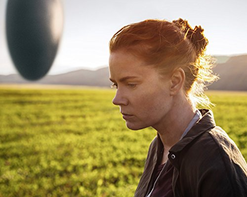Arrival Amy Adams in profile by giant U.F.O. Movie 16x20 Canvas Giclee