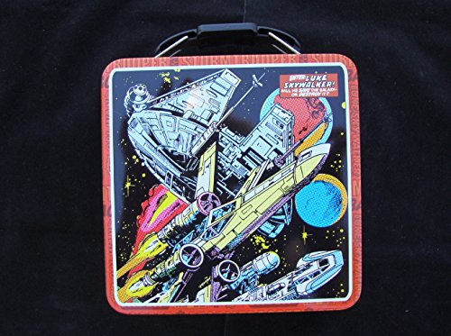 Star Wars Enter Luke Skywalker Small Metal Tin Box Collector Stash Storage Box CLASSIC COLLECTIBLE [Official Licensed Merchandise]