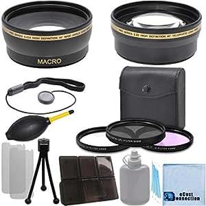 Amazon.com : Pro Series 58mm 0.43x Wide Angle Lens + 2.2x