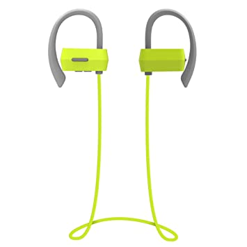 Auriculares Bluetooth 4.1 Deportivos, Inalámbrico Sweatproof Impermeable Stereo headphone in Ear con Micrófono Manos Libre