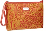 Nine West Can't Stop Shopper Large Wristlet,Warm Sun,One Size, Bags Central