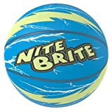 Baden Nite Brite Lightning Basketball, Blue/Glow, Size 6