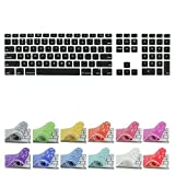 All-inside Black Keyboard Cover for iMac Wired USB Keyboard