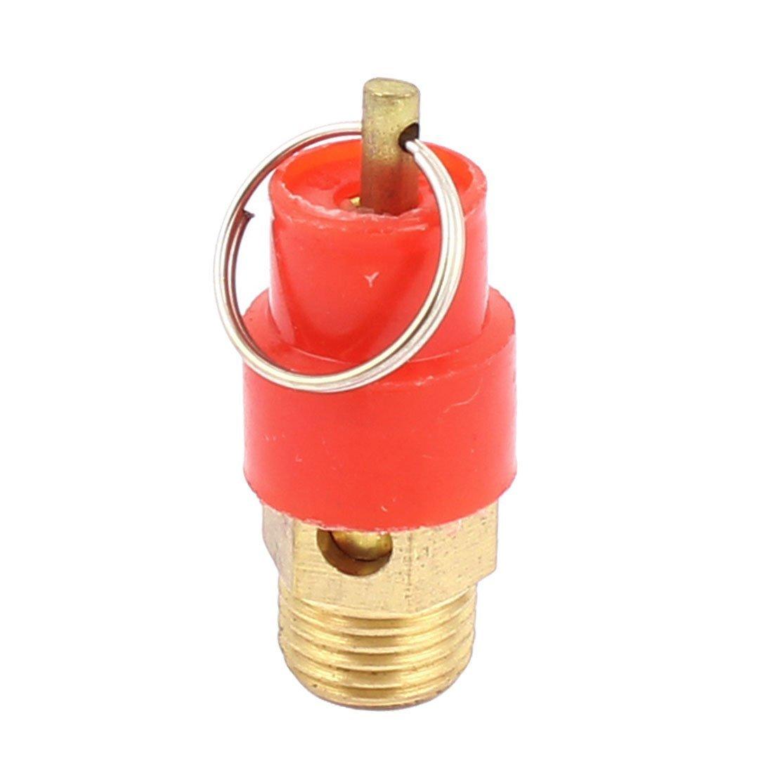 sourcingmap® Compresor de aire de alivio de presión Válvula de seguridad de apertura neumático Montaje 1/4BSP: Amazon.es: Bricolaje y herramientas