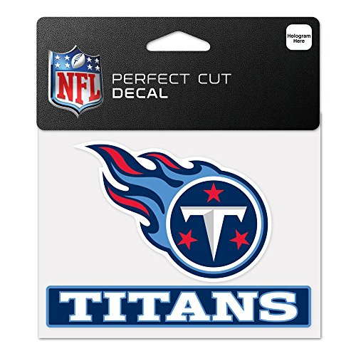 ee Titans WCR48872014 Perfect Cut Color Decal, 4.5
