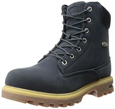 Lugz Men's Empire Hi WR Boot, Navy/Cream/Gum, 9 D US
