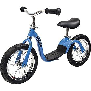 KaZAM v2s No Pedal Balance Bike, 12-Inch, Blue