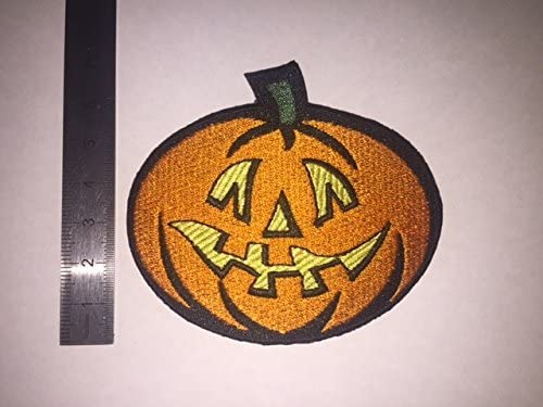 THERMOCOLLANT ECUSSON PATCHES AUFNAHER TOPPA CITROUILLE HALLOWEEN