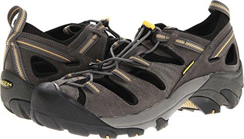 KEEN Men's Arroyo II Sandal,Gargoyle/Tawny Olive,9.5 M US -