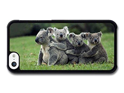 Funny Cute Koalas Hugging coque pour iPhone 5C
