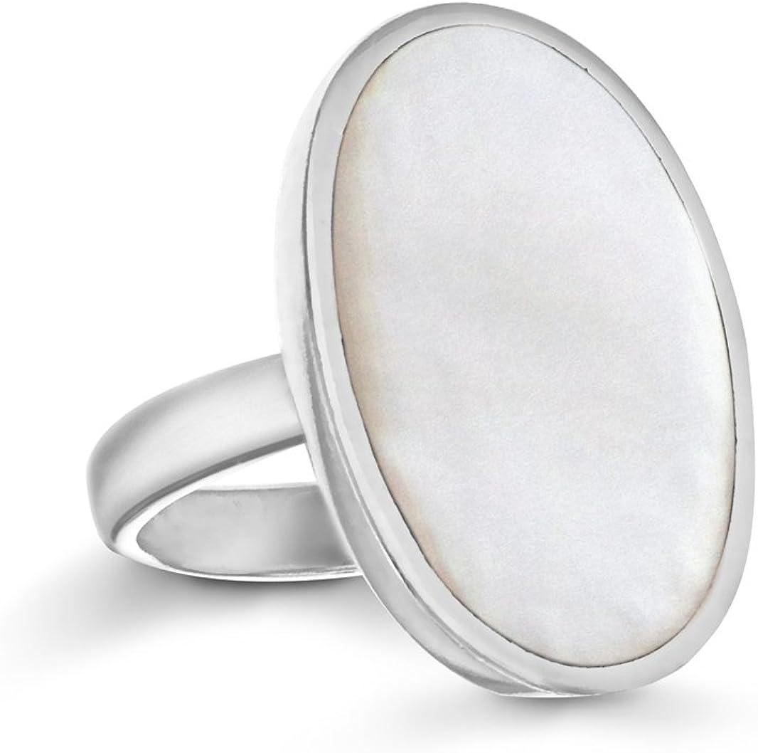 Tuscany Silver Anillo de mujer con plata de ley 925/1000 y gema