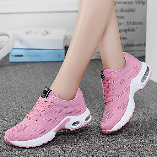 Cojines Zapatos Aire Mujer Estudiante Zapatillas 2020 Para Deporte Logobeing Net 41 Running Volar Gimnasia Rosado Con Deportivas 35 Sneakers Calzado Tejidos De pIwqBf