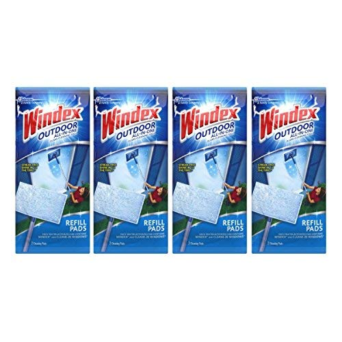 Price comparison product image Windex All-In-One Window Cleaner Pads Refill - 2 ct - 4 pk