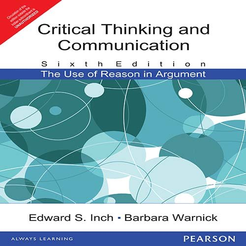 critical thinking and communication the use of reason in argument 7th edition pdf