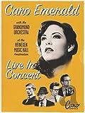Live in concert -cd+dvd+blu-ray- CARO EMERALD
