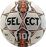 Select Numero 10 Soccer Ball, White/Orange, 5