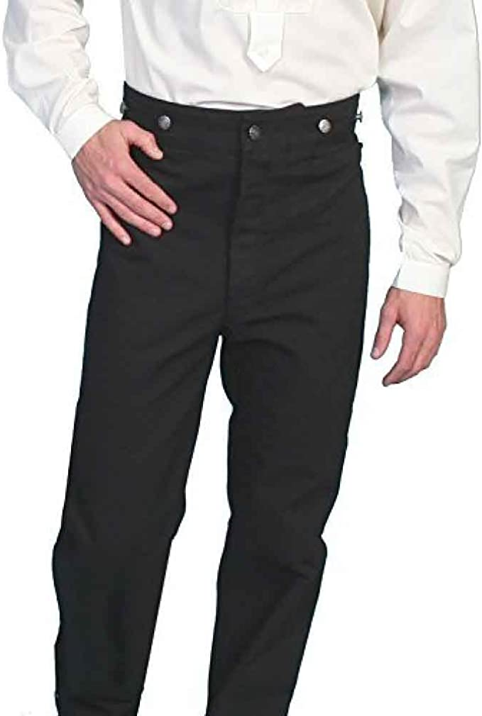 Victorian Men's Clothing, Fashion – 1840 to 1890s Wahmaker Canvas Pants  AT vintagedancer.com
