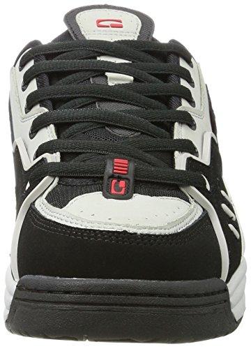 IV Silver Grey Classic Black Globe Shoe CT 7aqIwC