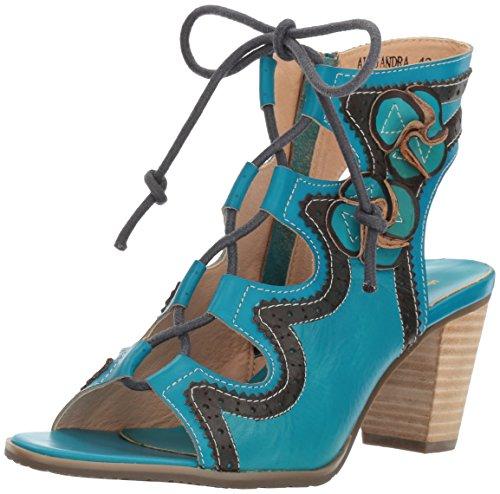 Women's Dress Turquoise L'Artiste Sandal Spring Step Alejandra Tq by qqPA7t