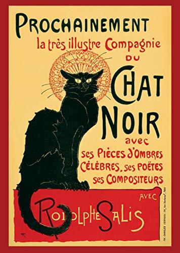 AMBROSIANA Chat Noir Steinlein Maxi Poster