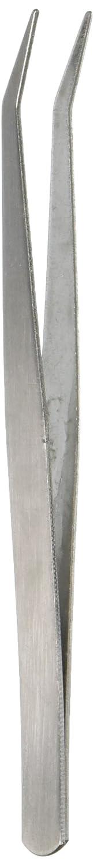Pince /à /épiler /à pointe courb/ée en inox Outil pratique Set 125 mm