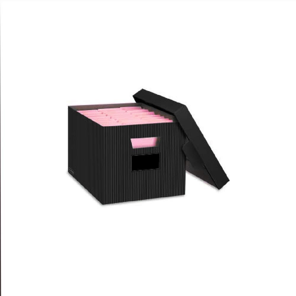 Filee Box Filling Folder Organizer Storage Card with Handles Cardboard & Ebook by AllTim3Shopping