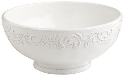 Antique Scroll Serving Bowl | Pier 1 Imports