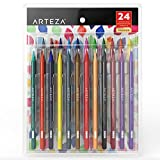 Arteza Woodless Watercolor Pencils (Set of 24)