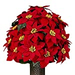 Red-Poinsettia-Artificial-Bouquet-featuring-the-Stay-In-The-Vase-Designc-Flower-Holder-SM1374