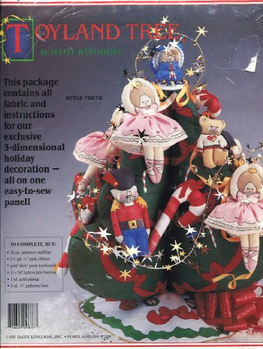 Daisy Kingdom Toyland Tree 3-Dimensional Fabric Holiday for sale  Delivered anywhere in USA