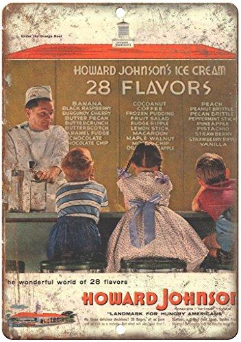 Johnsons Ice Howard Cream (Howard Johnson's Ice Cream 28 Flavors Ad 12