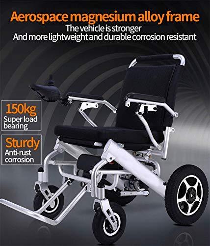 Amazon.com: 2019 ComfyGO - Silla de ruedas plegable con ...