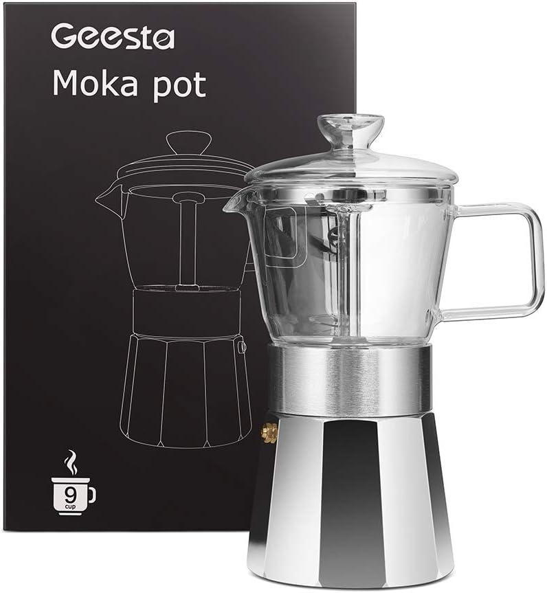 Amazon.com: GEESTA Premium Crystal Glass-Top Stovetop ...