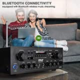 Pyle Upgraded Karaoke Bluetooth Channel Home Audio