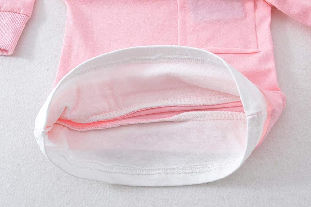 Jimmackey 2pcs Splice Completini Ginocchia Applique Pantaloni Neonato Abiti Set Bambino Tasca T-Shirt Camicia Cime