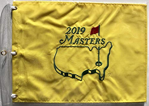Tiger Woods Sports Memorabilia - 2019 Masters golf Flag Tiger Woods augusta national pin flag pga new