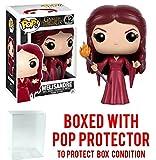 Funko Pop! Game of Thrones: GOT - Melisandre #42 Vinyl Figure (Bundled with Pop BOX PROTECTOR CASE)