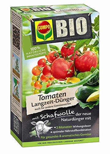 Compo 20297 Bio Tomaten Langzeit-Dünger mit Schafwolle, 750 g