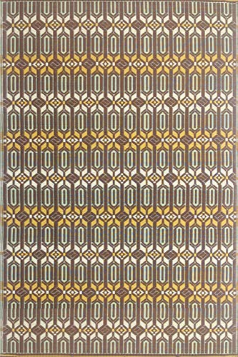 (Mad Mats® FM-MOR46-AC1 Outdoor Rug, 4' x 6', Arts & Crafts)