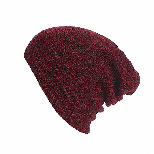 Price comparison product image Maoko Unisex Slouchy Winter Hats Knitted Skull Caps Soft Warm Beanie