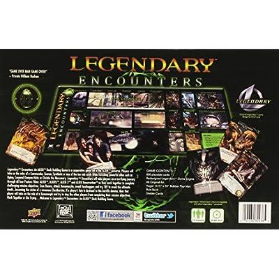 Legendary Encounters: An Alien Deck Building Game: Toys & Games