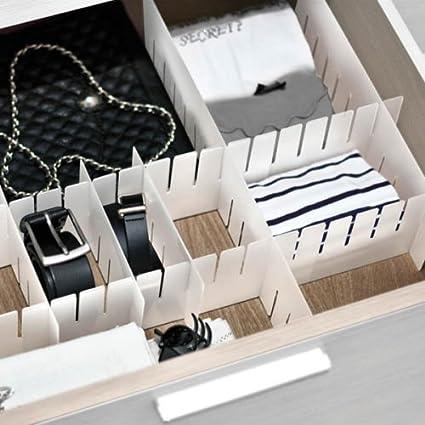 Cassetti In Plastica Componibili.Ducomi Modul Divisore Modulare Per Cassetti In Plastica Fornito In 6 Pratici Pezzi Componibili 3 Taglie Disponibili 2 8x10x42 3