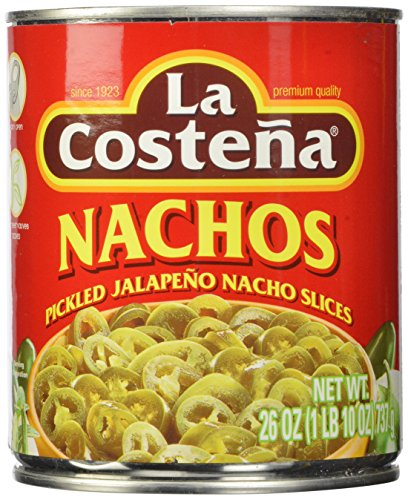 La Costena Nacho Jalapeno, 26 Ounce (Pack of 12) (La Costena Jalapeno)
