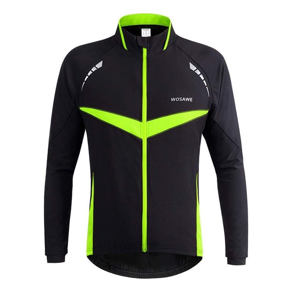 HENGMANHONG Mountain Road Bike Riding Suit Windproof Waterproof Bicycle Long-Sleeved Suit Sports Jacket