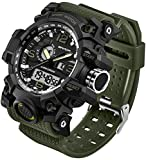Best Army Watches - Men's Watches Military Sports Electronic Waterproof LED Stopwatch Review