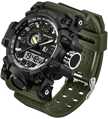 Men's Watches Military Sports